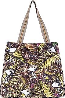 CODELLO Damen Tasche, Shopper, Robust | PEANUTS | 100% Baumwolle Canvas | 22 x 16 x 4 cm
