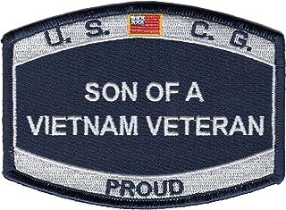 Coast Guard Son of a Vietnam Veteran Patch