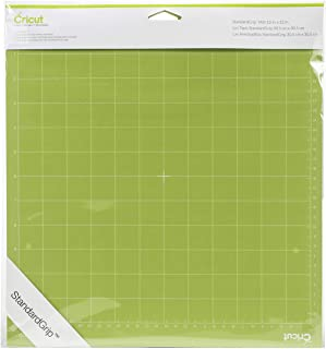 Cricut 2001974 Adhesive Cutting Mat, Standard Grip, 12 x 12-Inch, Pack of 2 Green