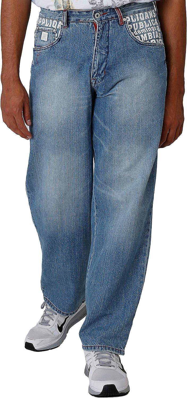 Blanco Label Men's Loose Fit 5 Pocket Ranking TOP7 Light Jeans Phoenix Mall Embel Washed