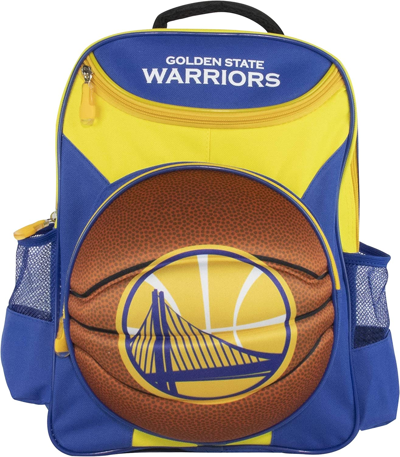 Official Golden State Warriors 5 ☆ very popular Manufacturer regenerated product Yellow and Backpack 1 Blue Kids'
