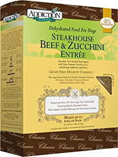 Addiction Grain Free Dehydrated Dog Food Beef & Zucchini