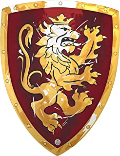 BestSaller Shield Noble Knight, 45x34,5cm Red/Gold