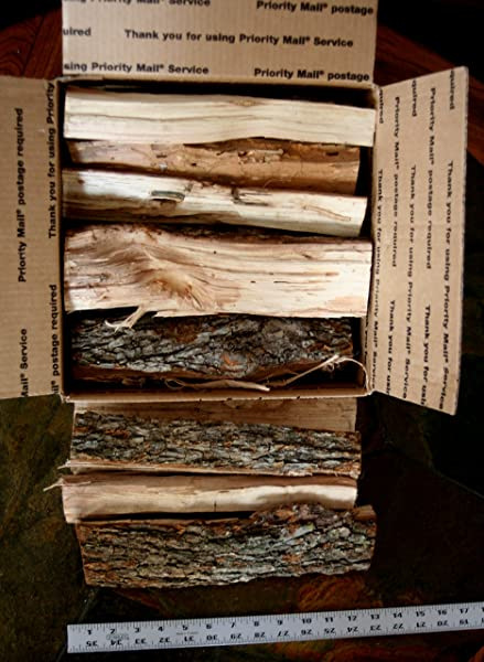 J C S Smoking Wood Sticks 18 Approx 1000 Cu Inch Box Pecan