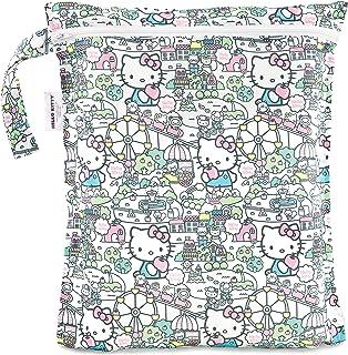 Bumkins Waterproof Wet Bag, Hello Kitty, 12x14