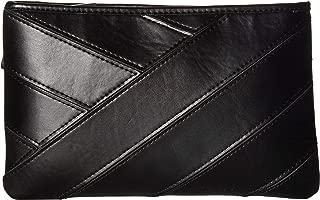 Calvin Klein Women's Pieced Belt Bag Black/Polished Nickel LG/XL