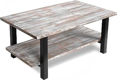 Miraculous Amazon Com Loon Peak Somers 42 Wood Metal Coffee Table Ibusinesslaw Wood Chair Design Ideas Ibusinesslaworg