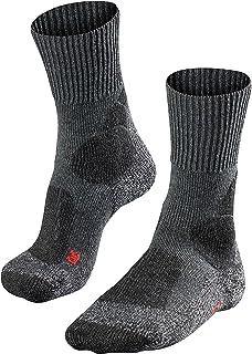 TK1 - Calcetines de Senderismo para Mujer, Color Gris Oscuro