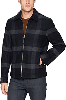 Men's Wyatt Plaid Front Zip Coat