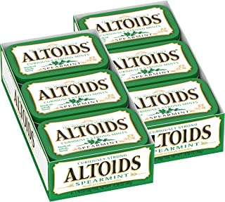 Altoids Spearmint Mints, 1.76 ounce (12 Packs)