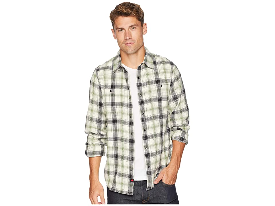 Mountain Khakis Saloon Flannel Shirt (Cream Plaid) Men