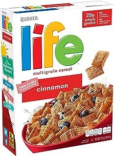 Quaker Life Cereal, Cinnamon, 13 Ounce