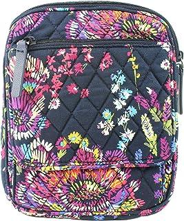 حقيبة كروس بودي ميني هيبستر من فيرا برادلي، تصميم زهور برية منتصف الليل