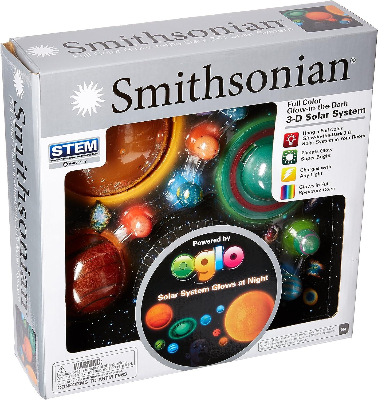 Smithsonian nsi 3D zum Aufhängen Glowing Solar System B00548T004 Modisch | Realistisch