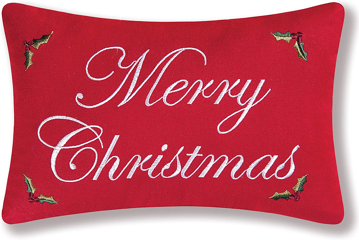 Decorative Red Christmas Pillow