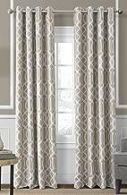 "Elrene Home Fashions 026865853704 Blackout Room Darkening Grommet Window Curtain Drape Panel, 52"" x 84"", Linen"