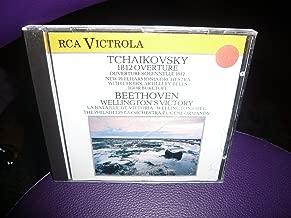 TCHAIKOVSKY - 1812 OUVERTURE, New harmonia orchestra, dir Igor Buketoff. BEETHOVEN , WELLINGTON4S VICTORY. The Philadelphia orchestra, direction Eugène ormandy.