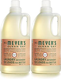 Mrs. Meyer's Clean Day Laundry Detergent, Geranium, 64 fl oz, 2 ct