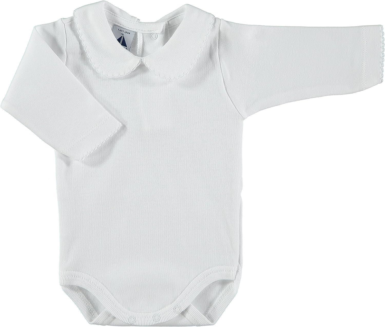 BABIDU Baby Body Cuello Algodon Bodysuit
