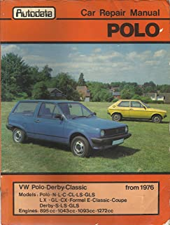 Volkswagen Polo, Derby, Classic from 1976 Workshop Manual