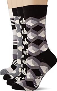 Happy Socks, Black and White Gift Box, Calcetines para Mujer