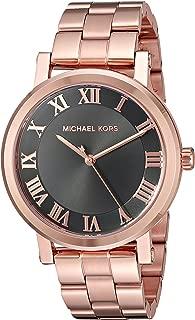 Michael Kors Womens Quartz Watch, Analog Display and Stainless Steel Strap MK3585