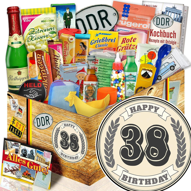 Geschenk Zum Geburtstag 38 Ddr Set Set Set 24tlg Geschenke 38