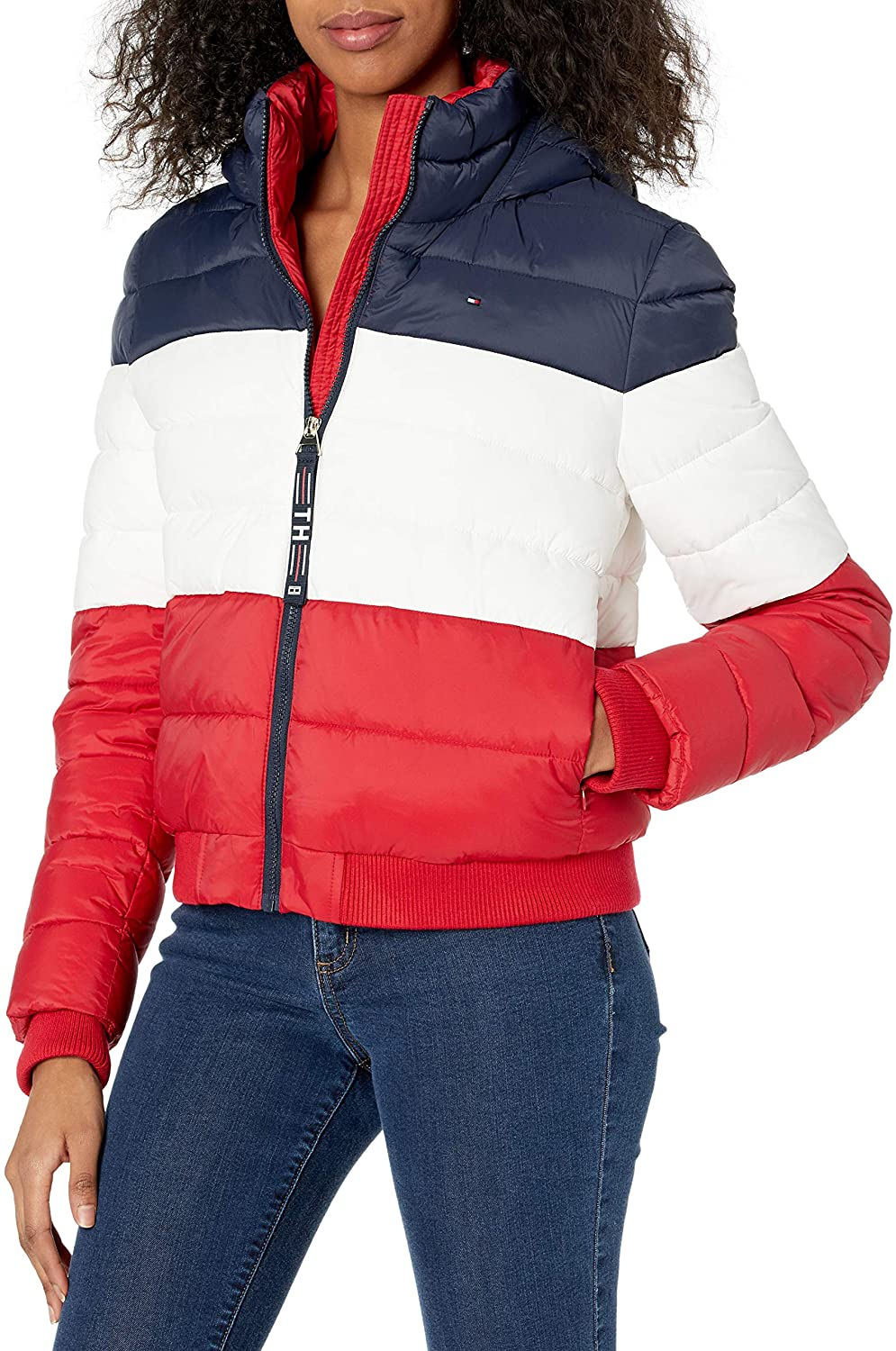Tommy NEW ARRIVAL Hilfiger Women Packable 全国一律送料無料 Jacket