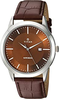 Workwear Men's Designer Dress Watch | Quartz, Water Resistant, Stainless Steel or Leather Band