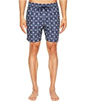 Jack Spade - Flower Tile Swim Trunks