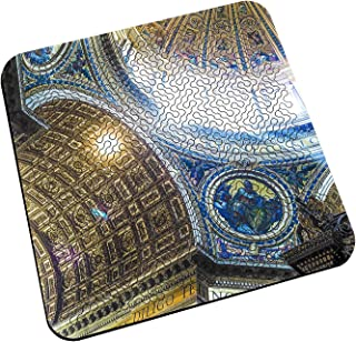 Torched Mind Bending Arch Wooden Jigsaw Puzzle Board,...