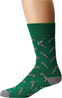 Vineyard Vines - Candy Cane Icon Socks