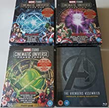Marvel Cinematic Universe - Phase One, Two and Three w/ Avengers Assembled