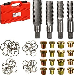 Yardwe Kits de reparaci/ón de roscas de buj/ías de 14 mm Herramientas de inserci/ón de roscas del Kit Helicoil de buj/ías para automotores Color Aleatorio