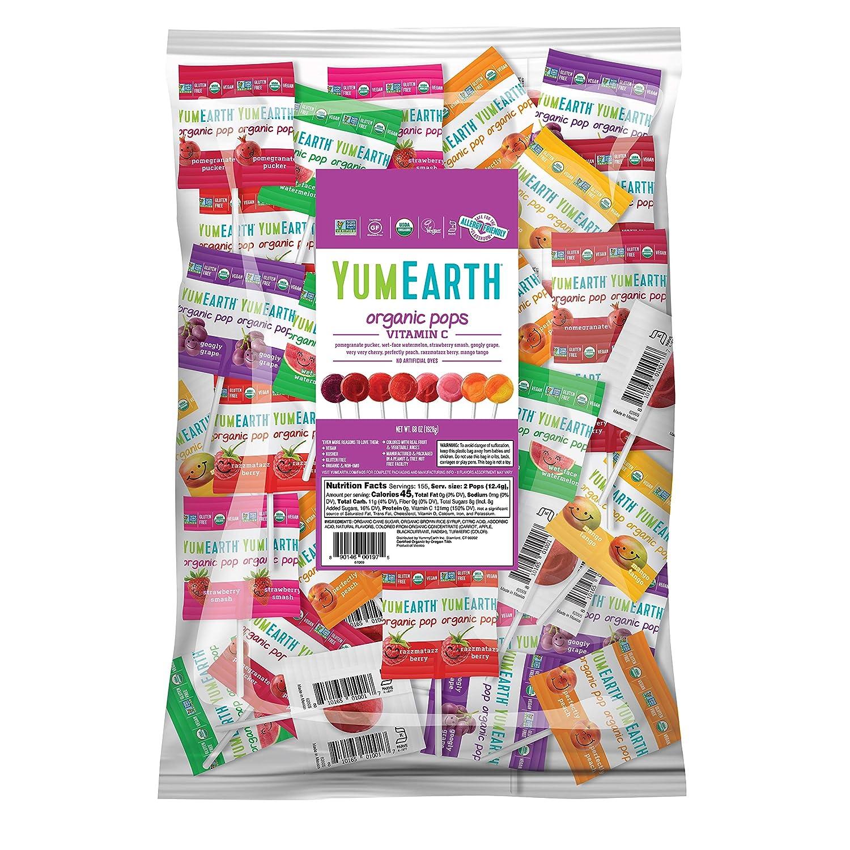 YumEarth Organic Lollipops Variety Pack 4.25 lb Regular dealer - of San Antonio Mall 1 pack