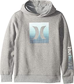 Ombre Icon Fleece Pullover Hoodie (Big Kids)