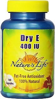 Nature's Life Dry E, 400 IU   100 ct