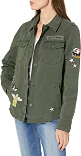 Two-Pocket Shirt Jacket with Patches