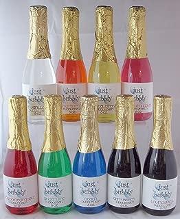 bubble bath in a champagne bottle