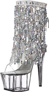 Pleaser Women`s Adore-1017SQF Ankle Bootie