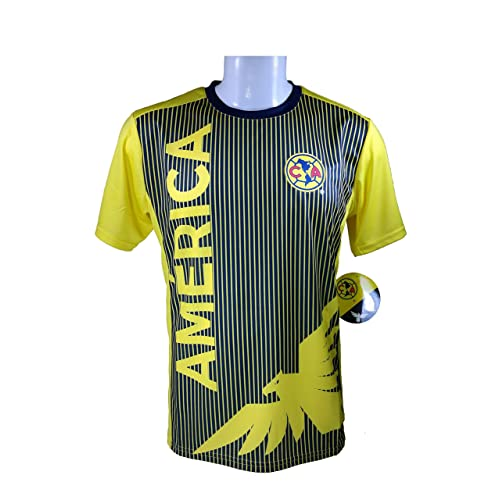 840e58bb79a Club America Soccer Official Adult Soccer Training Performance Poly Jersey  P002