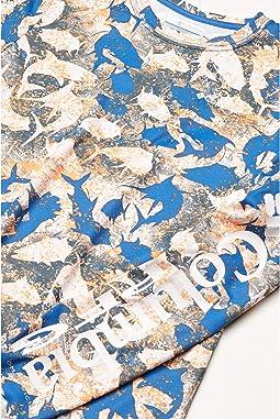 Vivid Blue Inside Out Camo