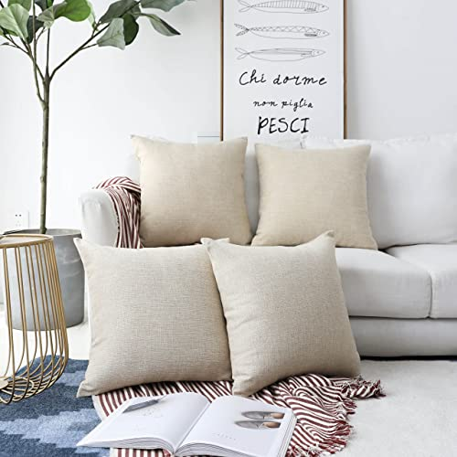 Cream Throw Pillows for Couch: Amazon.com