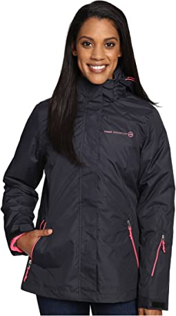 Radiance Print 3-in-1 System Jacket with Detachable Hood