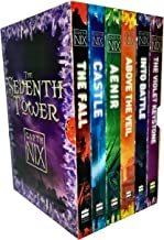 Garth Nix The Seventh Tower Collection 6 Books Box Set (Aenir, Castle, The Fall, Into Battle, Above the Veil, The Violet K...