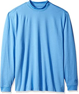 PGA TOUR Men's Long Sleeve Motionflux Mock Neck T-Shirt