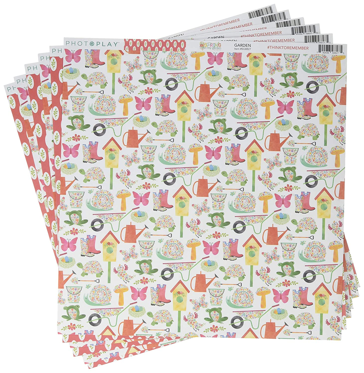 Photo Play Paper Spring in My Garden Double-Sided Cardstock 12