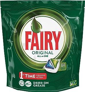comprar comparacion Fairy Original Cápsulas Todo en 1 para Lavavajillas - 84 cápsulas