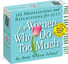 For Women Who Do Too Much: 365 Meditations and Reflections for 2017