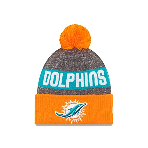 d5990766f Miami Dolphins Knit Hat: Amazon.com